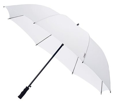 Falcone Automatic windproof golfparaplu wit