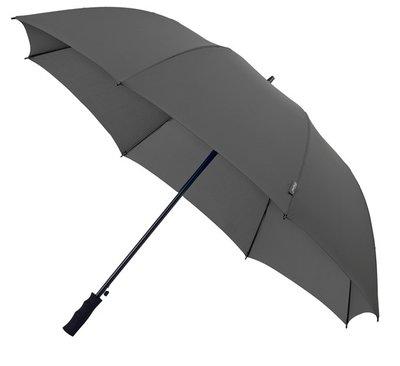 Falcone Automatic windproof golfparaplu grijs