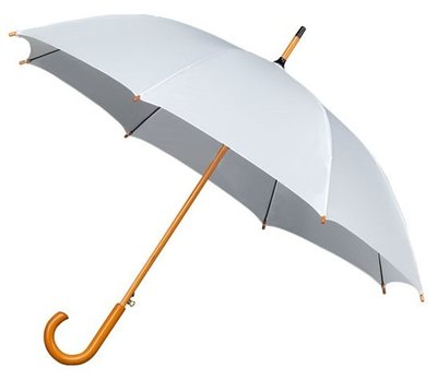 Falcone Deluxe paraplu wit