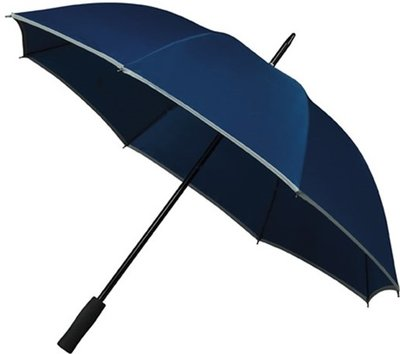 Falcone Reflect golfparaplu blauw