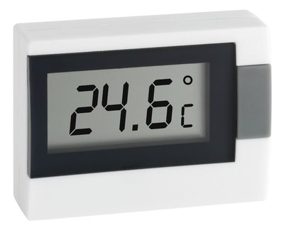 TFA Digi white thermometer