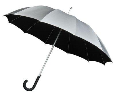 Falcone Automatic paraplu grijs