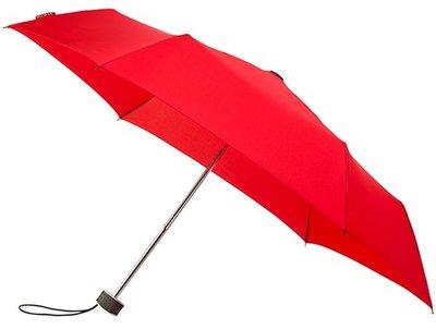 miniMAX Flat opvouwbare windproof paraplu rood