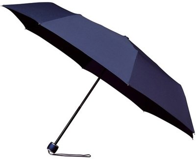 miniMAX windproof opvouwbare paraplu donkerblauw