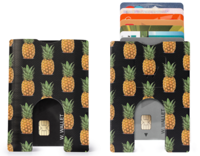 Fruity Wallet Small Pineapples