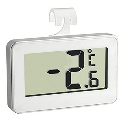 TFA Digilux white thermometer