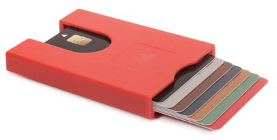 Walter Wallet Jet Red creditcardhouder