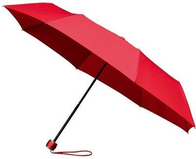 miniMAX windproof opvouwbare paraplu rood