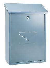 Rottner Tresor Parma zilver brievenbus
