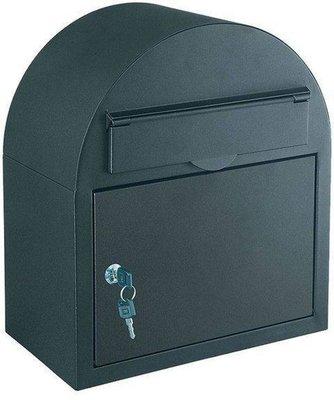 Rottner Tresor Ascot antraciet brievenbus