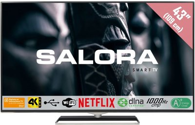 Salora Ultra HD 4500 serie 43 inch tv