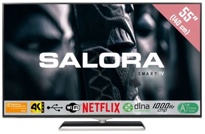 Salora Ultra HD 4500 serie 55 inch tv