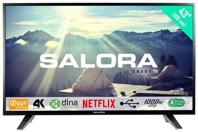 Salora Ultra HD 3500 serie 43 inch tv