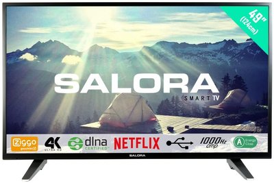 Salora Ultra HD 3500 serie 49 inch tv