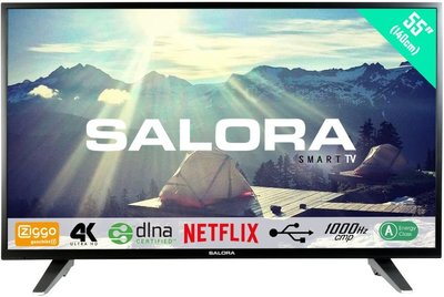 Salora Ultra HD 3500 serie 55 inch tv
