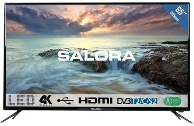 Salora Ultra HD 2800 serie 65 inch tv