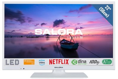 Salora Full HD 6500 serie 22 inch tv wit