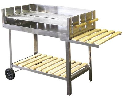 BBQ Collection Trolley inox houtskool barbecue