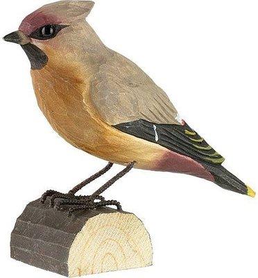 Wildlife Garden Pestvogel uit hout