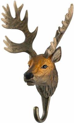 Wildlife Garden Kapstok Edelhert uit hout