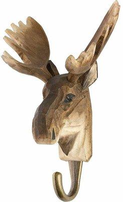 Wildlife Garden Kapstok Eland uit hout