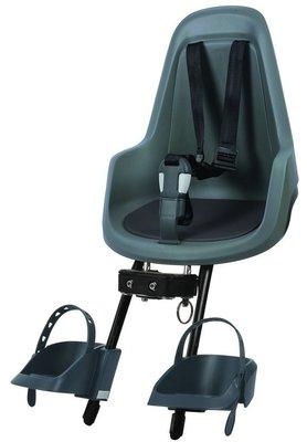 Bobike GO Mini Fietsstoeltje voor - Macaron Grey