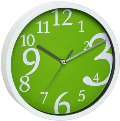 TFA Dancing Digits groene wijzerplaat 20 cm klok