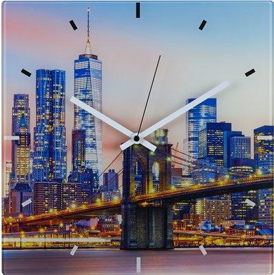 TFA New York Skyline 32 cm klok