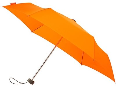 MiniMAX Flat opvouwbare windproof paraplu oranje