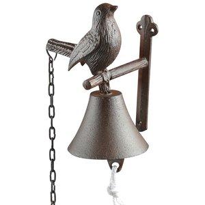 Draadloos Deurbel Vogel.Esschert Design Db86 Vogel Deurbel