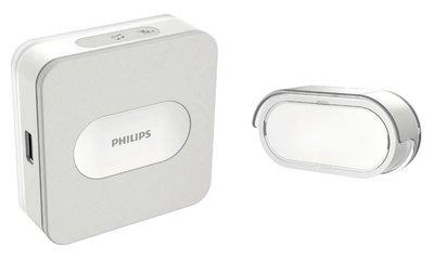 Draadloos Deurbel Vogel.Philips Welcomebell 300 Plugin Draadloze Deurbel