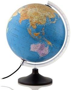afbeelding van Atmosphere Politic wereldbol met verlichting