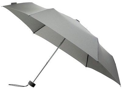 MiniMAX Flat opvouwbare windproof paraplu grijs
