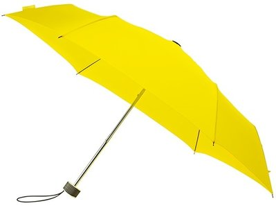 MiniMAX Flat opvouwbare windproof paraplu geel