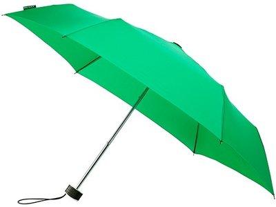 MiniMAX Flat opvouwbare windproof paraplu groen